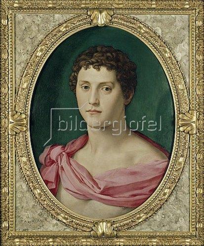 Agnolo Bronzino: Jüngling in antiker Tracht. Um 1545