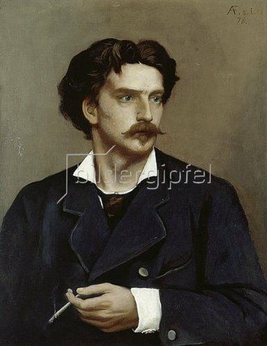 Anselm Feuerbach: Selbstbildnis. 1878