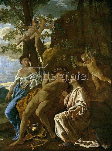 Nicolas Poussin: Die Inspiration eines Dichters. Um 1628