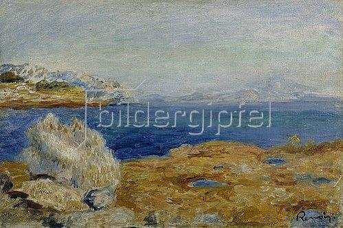 Auguste Renoir: Küstenlandschaft. Um 1883
