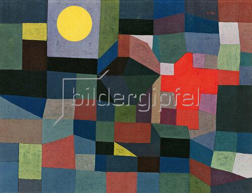 Paul Klee: Feuer bei Vollmond. 1933.