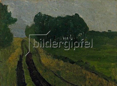 Paula Modersohn-Becker: Abendlandschaft. 1904