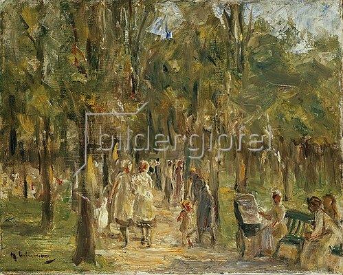 Max Liebermann: Tiergarten. 1915