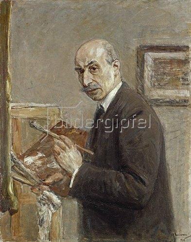 Max Liebermann: Selbstbildnis. 1916