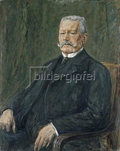 Max Liebermann: Bildnis Paul von Hindenburg. 1927