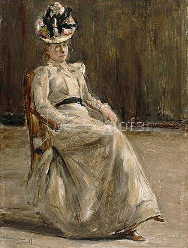 Max Liebermann: Damenbildnis. 1899