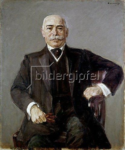 Max Liebermann: Bildnis des Geheimrats Dr. h.c. Seligmann. 1910