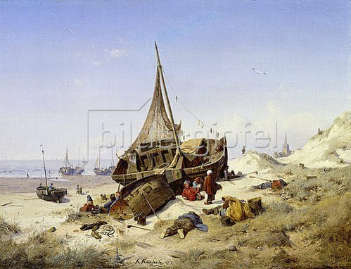 Andreas Achenbach: Ebbe. 1837