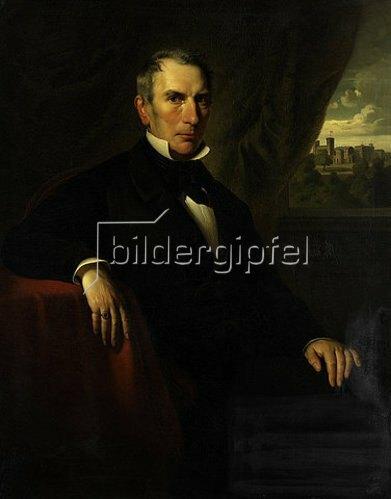 Georg Bergmann: Bildnis Bernhard Hausmann. 1853