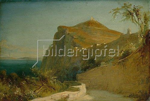 Carl Blechen: Tiberiusfelsen auf Capri. 1828/29