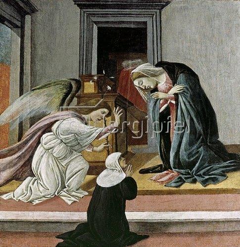 Sandro Botticelli: Verkündigung.