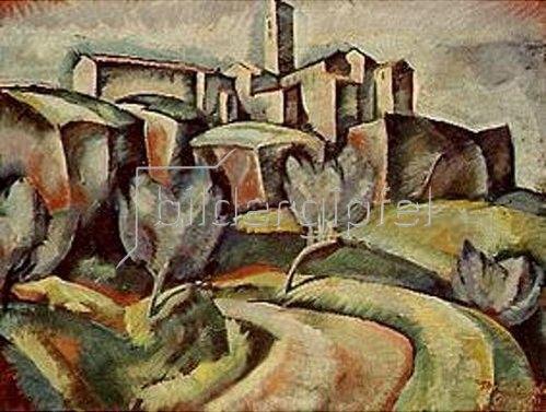 Farkas Molnár: Orvieto. 1921.