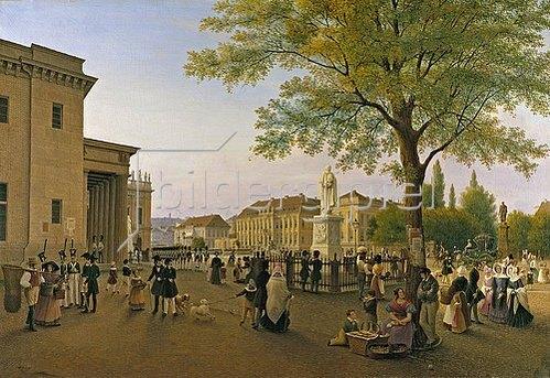Wilhelm Brücke: Das Palais Friedrich Wilhelm III. in Berlin. 1841