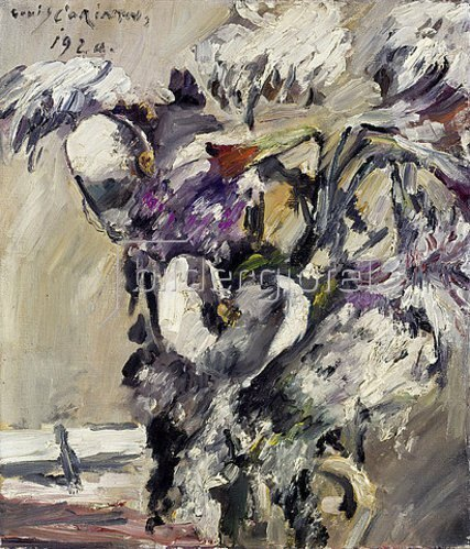 Lovis Corinth: Chrysanthemen und Kalla. 1920