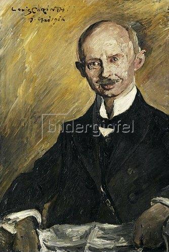 Lovis Corinth: Bildnis des Apothekers Otto Winter. 1916