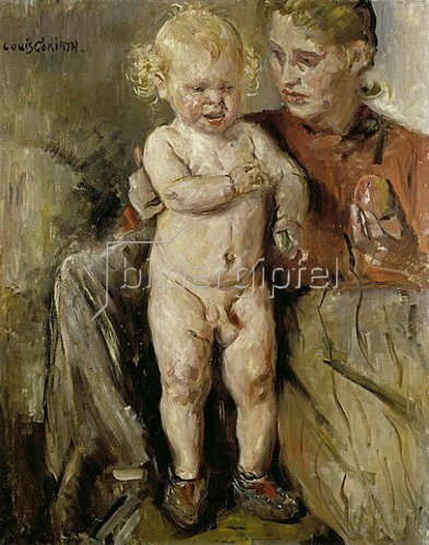 Lovis Corinth: Ottchen mit Mutter. 1905