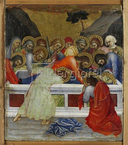 Taddeo di Bartolo: Grablegung der Maria.