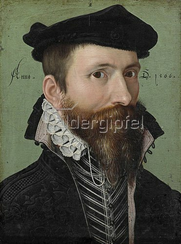 Ludger tom d.J Ring: Bildnis eines Mannes. 1566