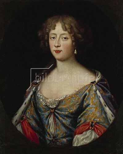 Pierre Mignard: Herzogin Elisabeth-Charlotte von Orléans. Um 1678