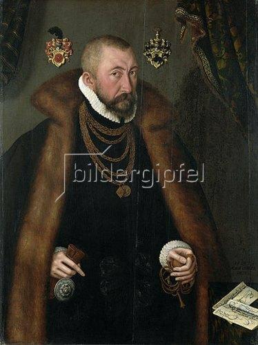 Adam Offinger: Heinrich von Saldern. 1578