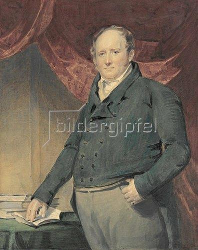 Sir Henry Raeburn: Der Verleger Archibald Constable. Um 1800-10?