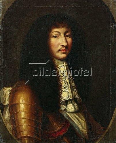 Unbekannter Künstler: Ludwig XIV. von Frankreich. Nach 1663