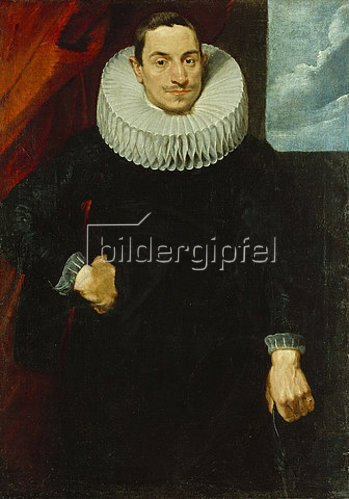 Anthonis van Dyck: Sogenannter Herr von Santander, Gouverneur von Antwerpen. Um 1618-20