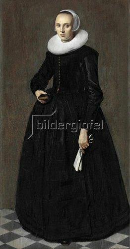 Harmen Willemsz. Wieringa: Bildnis einer jungen Frau. Um 1635