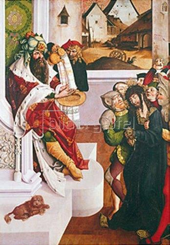 Jörg Breu (Preu) d.Ä.: Christus vor Pilatus. 1501/1502.