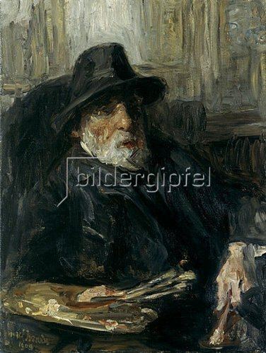 Joseph Israels: Selbstbildnis. 1909