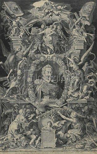 Egidius Sadeler d.J.: Kaiser Matthias. 1614