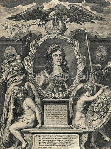 Dancker Danckerts: Kaiser Leopold. Nach 1658