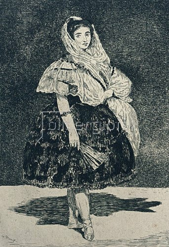 Edouard Manet: Lola de Valence. 1863 (siehe auch Bildnummer 8930)