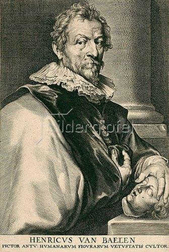 Paulus Pontius: Hendrick van Balen. Aus der sog. Iconographie, Antwerpen 1645