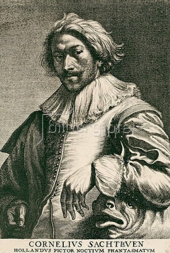 Lucas Vorsterman I.: Cornelis Saftleven. Aus der sog. Iconographie, Antwerpen 1645