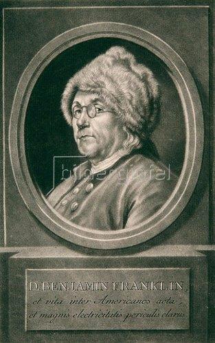 Johann Elias Haid: D. Benjamin Franklin. 1780