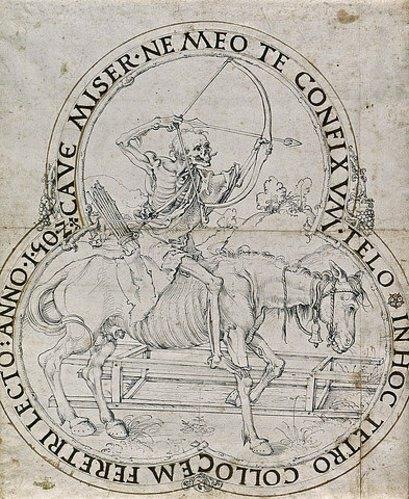 Albrecht Dürer: Der reitende Tod. 1502