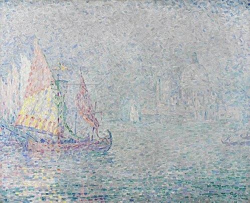 Paul Signac: Santa Maria della Salute in Venedig. 1908