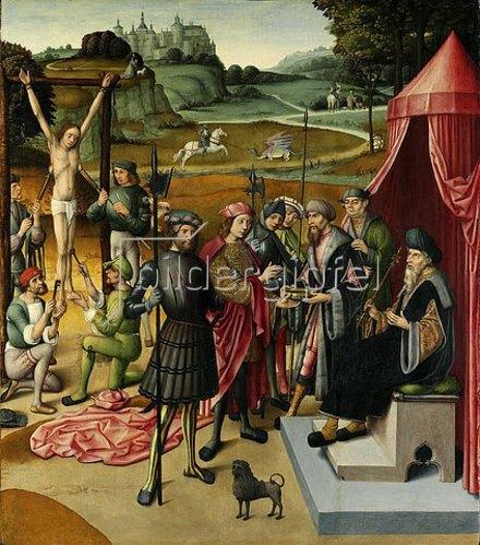 Niederländischer Meister: Georgslegende. Um 1480/1500