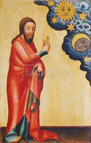 Meister Bertram: Altar aus St.Petri Hamburg (Grabower Altar), um 1380. Erschaffung der