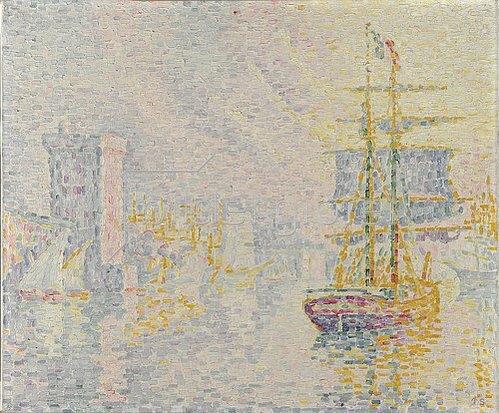 Paul Signac: Marseille. La Brume jaune. 1922