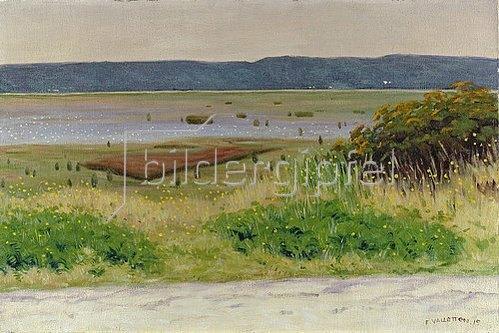Felix Vallotton: Meeresbucht bei Honfleur. 1915