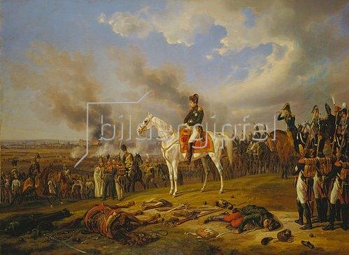 Albrecht Adam: Napoleon vor Regensburg. 1840.