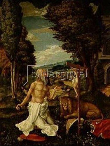 Hans Mielich: Der hl.Hieronymus. Um 1550/1560.