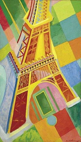 Robert Delaunay: Tour Eiffel. 1926