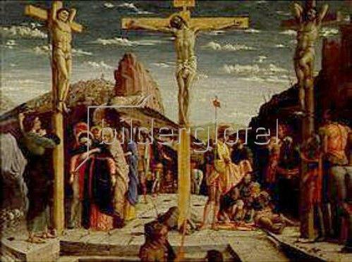 Andrea Mantegna: Die Kreuzigung Christi.