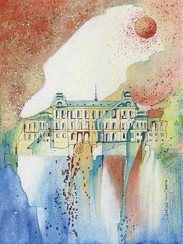 Annette Bartusch-Goger: Königliches Sommerschloss Drottningholm, Schweden. 2011