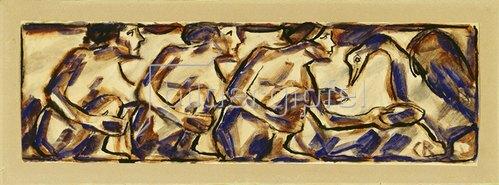 Christian Rohlfs: Figurenfries. 1913
