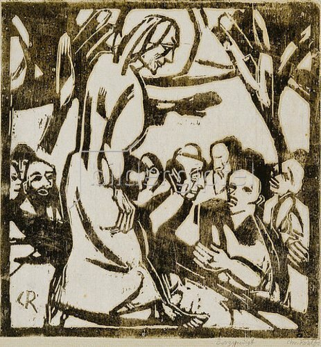 Christian Rohlfs: Bergpredigt. 1916
