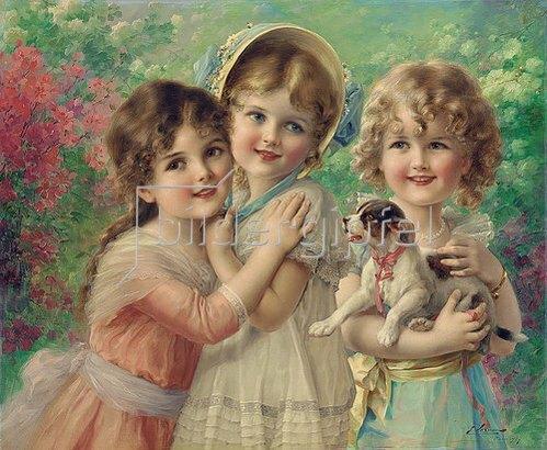 Emile Vernon: Beste Freunde. 1917